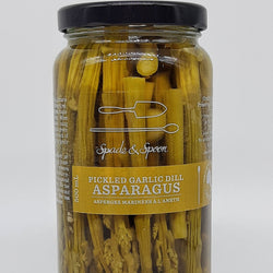 Pickled Garlic Dill Asparagus, 500ml