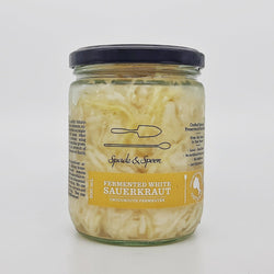 Sauerkraut, Wild Fermented White (500ml)