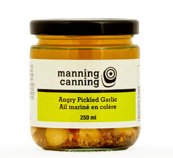 Angry Pickled Garlic, 250ml