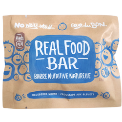 Granola Bar, Real Food - Blueberry Grunt (53g)
