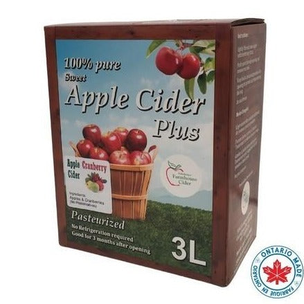 Box of Apple Cranberry Cider