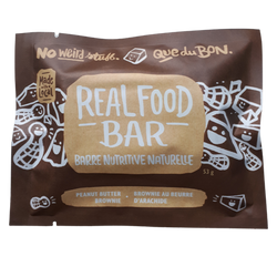 Granola Bar, Real Food - Peanut Butter Brownie (53g)