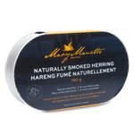 Tin of naturally smoked herring