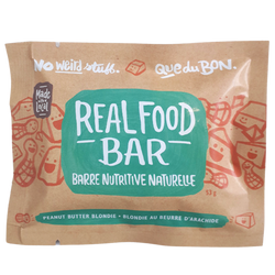 Granola Bar, Real Food - Peanut Butter Blondie (53g)