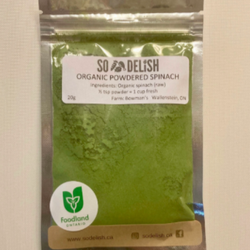 Spinach, Powdered
