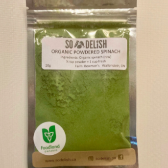 Powdered Spinach