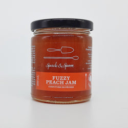 Jam, Fuzzy Peach (250 ml)