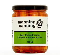 Spicy Pickled Carrots, 500ml