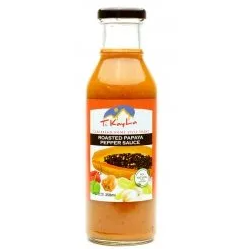 jAR OF ROASTED PAPAYA PEPPER SAUCE