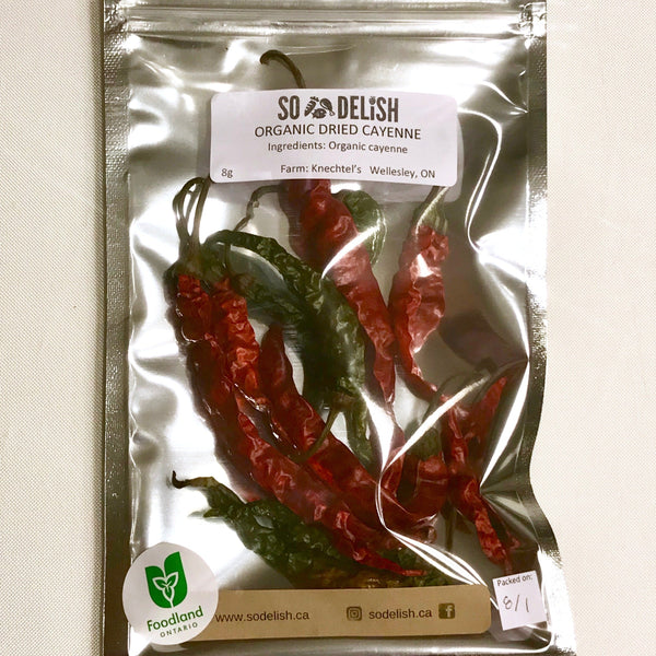 Dried Cayenne, 8g