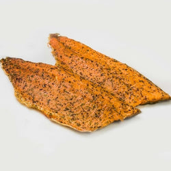 Smoked Rainbow Trout, Citrus Herb ~200g