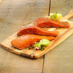Smoked Salmon, Natural/Plain (190g)