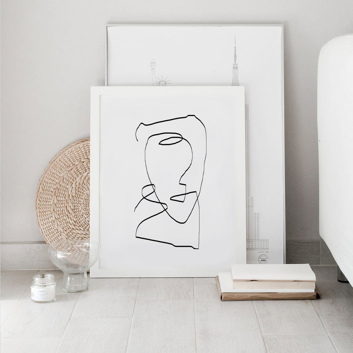 The continuous line abstract by The Miuus Studio