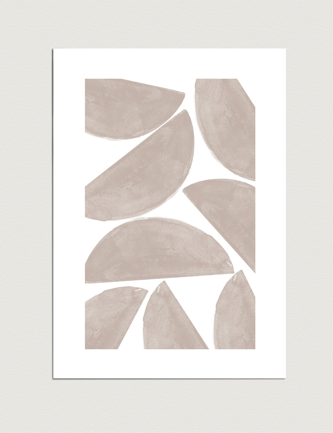 Abstract stones, printable wall art by The Miuus Studio
