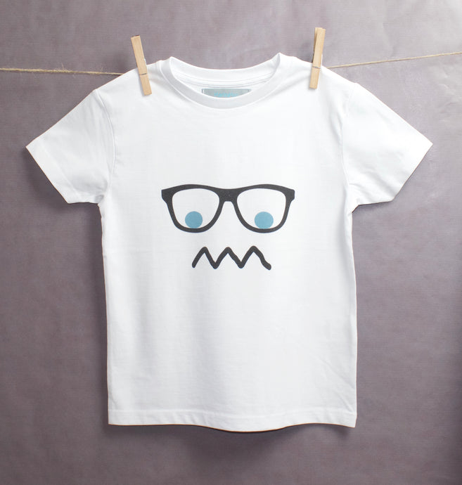 Grumpy White T-shirt