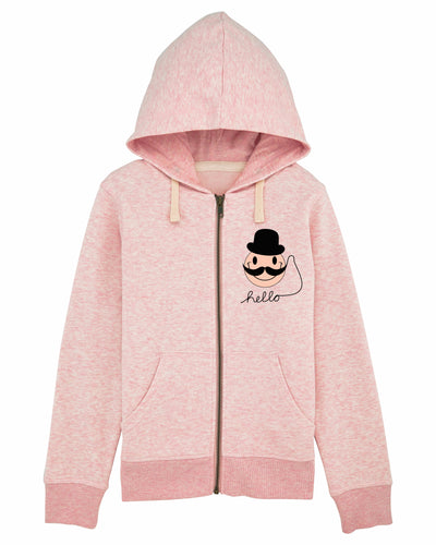 Mr.Moo Light Pink Hoodie