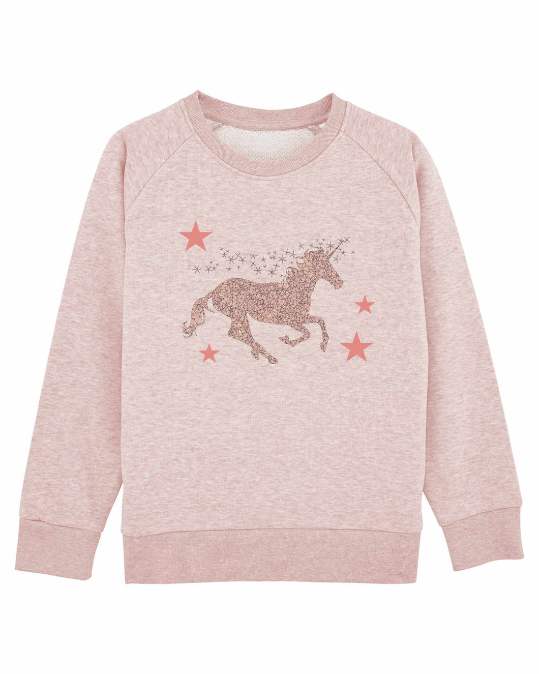 Miss Unicorn Pink Sweatshirt