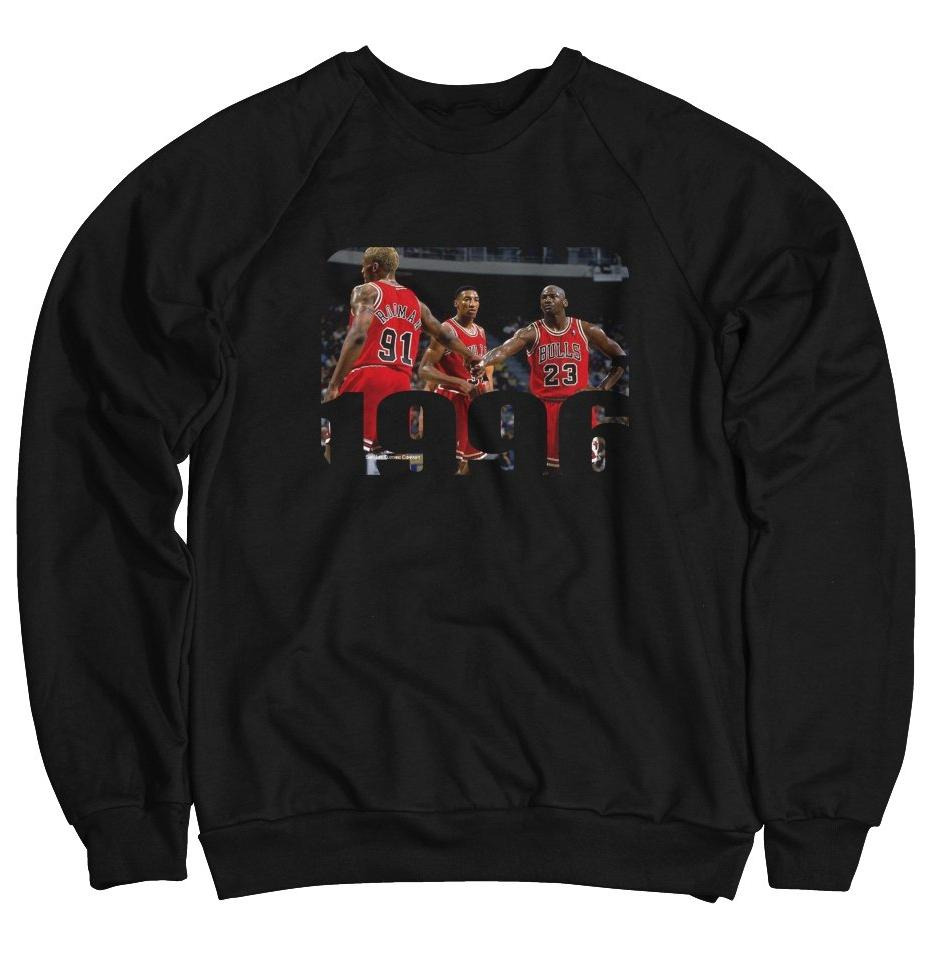 1996 Chicago Bulls Tee (Designed to match Air Jordan 11 Win Like 96 Sneakers)