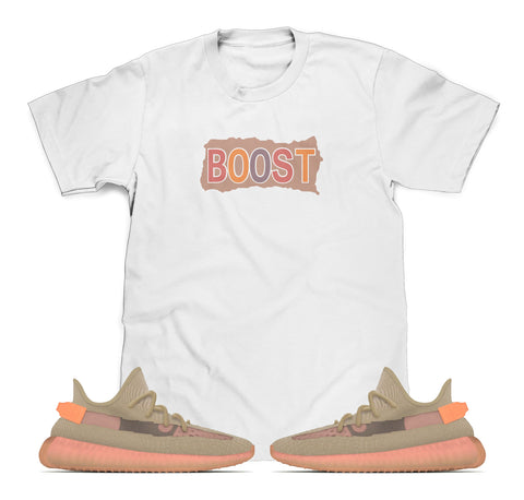 Boost Tee Designed To Match Adidas Yeezy Boost V2 Clay Sneakers