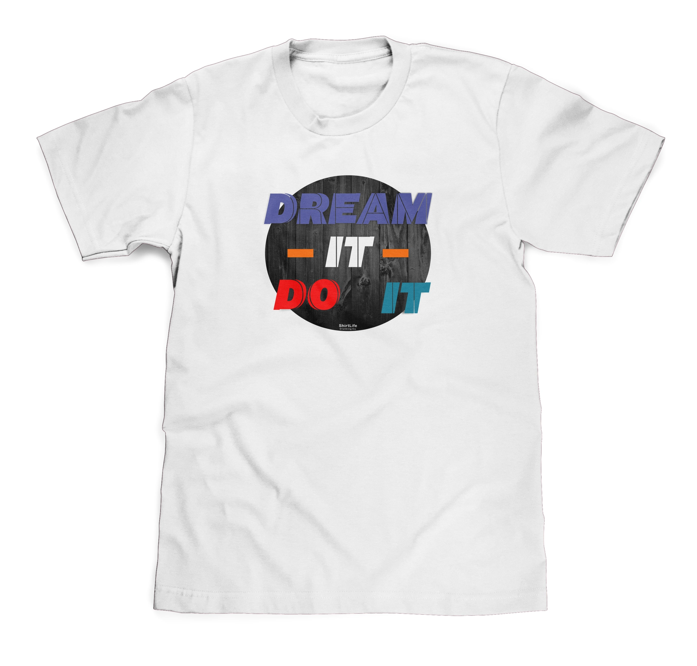 Dream it Do it White Tee To Match Air Jordan Retro 9 Sneakers