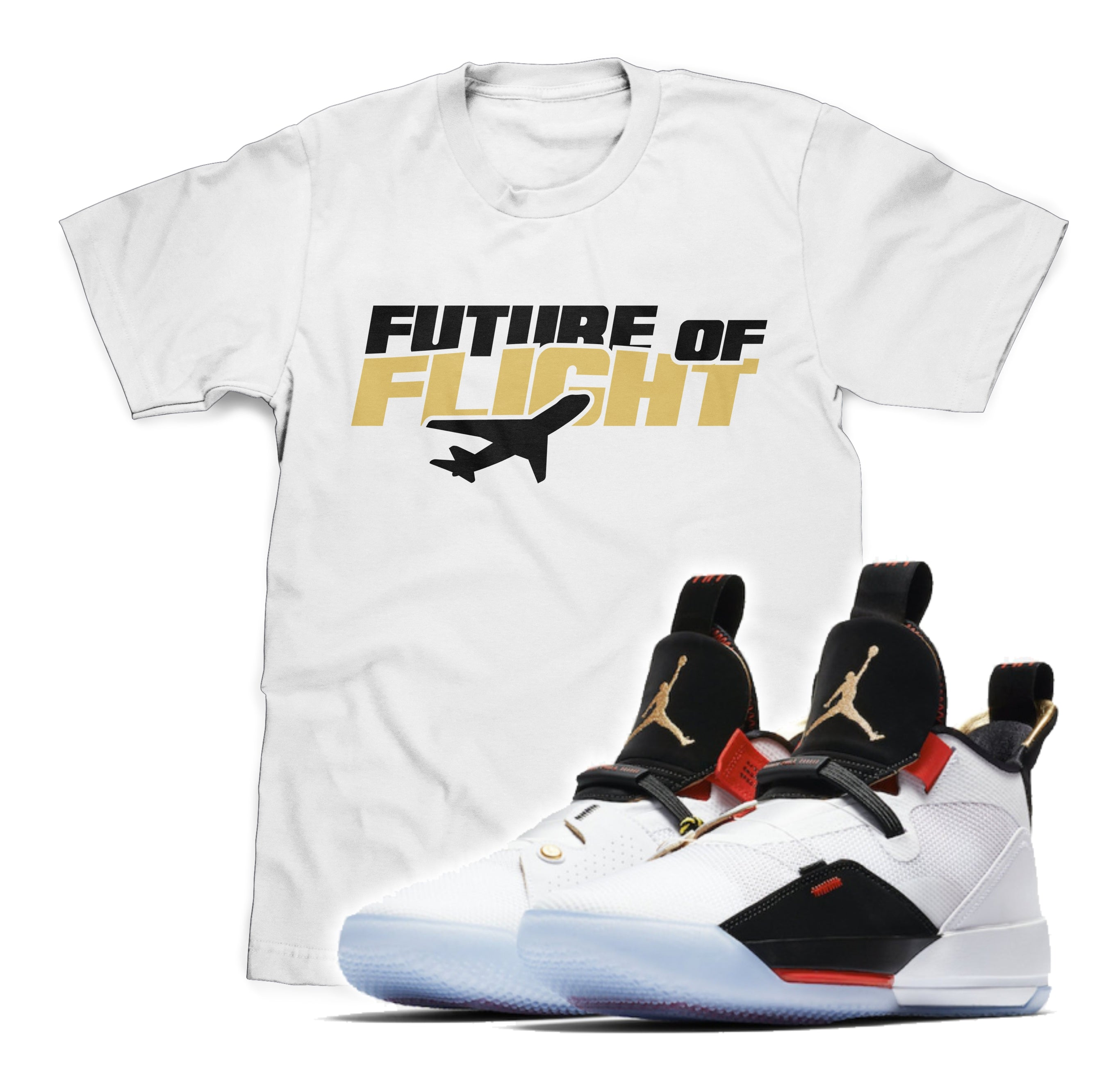 Future of Flight Tee (Designed to match Air Jordan 33 Sneakers)