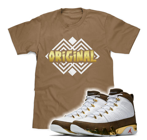 "Originals Tee (Designed to match Air Jordan 9 Melo ""MOP"" Sneakers)"