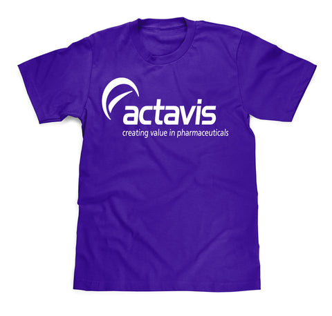 Actavis Cough Syrup Tee
