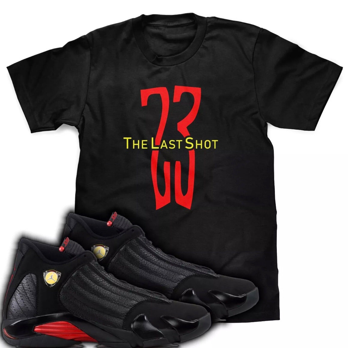 The Last Shot Tee (Designed to match Air Jordan 14 Sneakers)