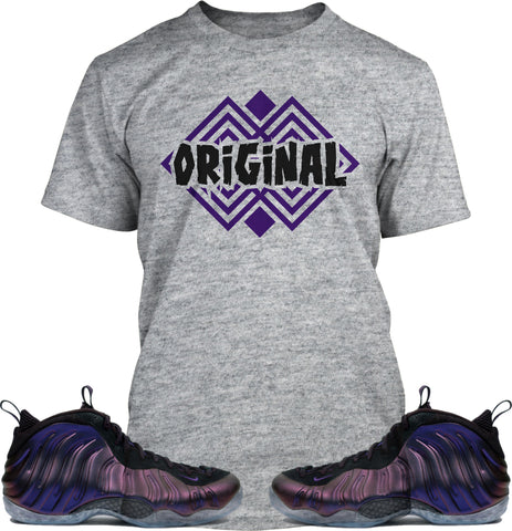 Original Tee (Designed to match Nike Foamposite EggPlant Sneakers)