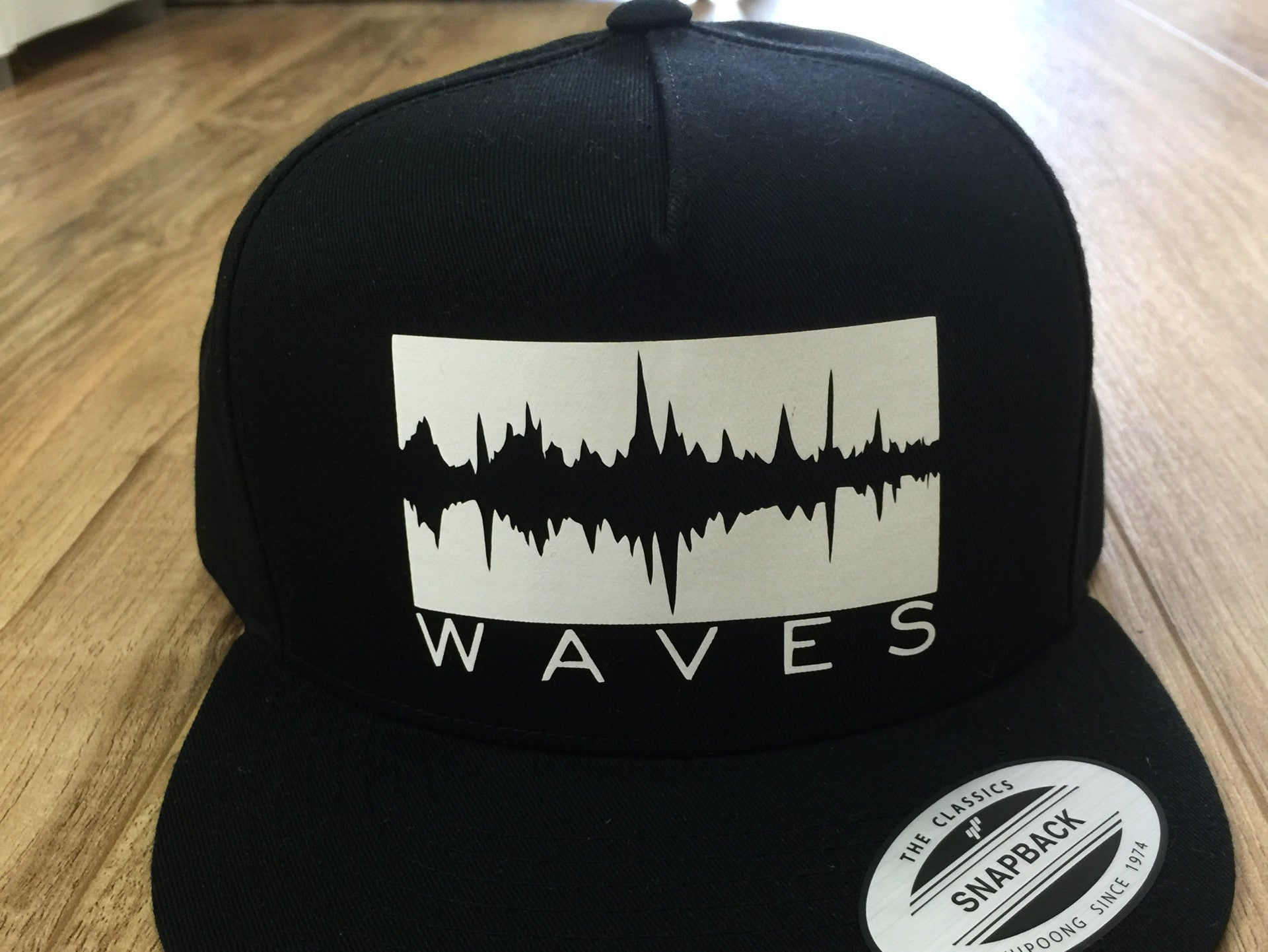 Waves Snapback Hat