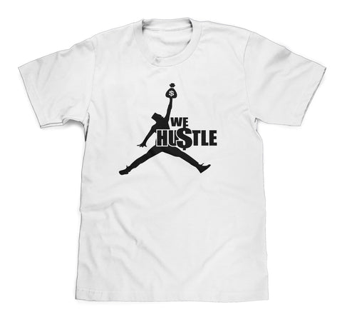 We HUSTLE Basketball Tee