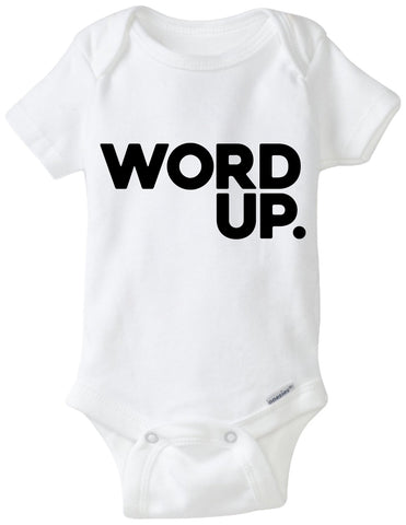 Word Up Onesie