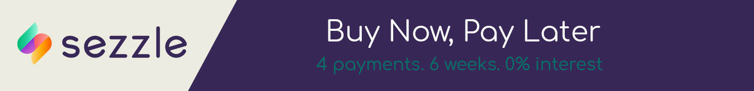 sezzle buy now. pay later.
