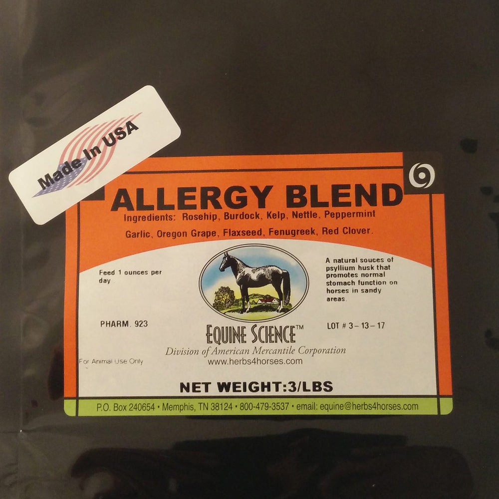 Allergy Herbal Blend.
