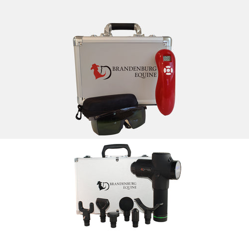Cold Laser Therapy - Equine Massage Gun