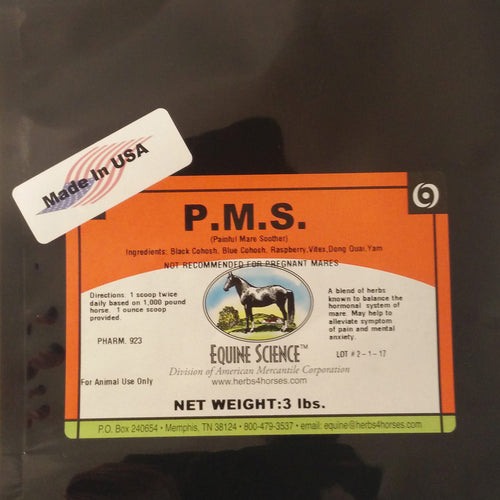 PMS (Painful Mare Soother).