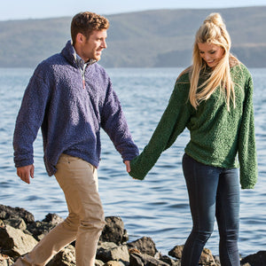 Sherpa Pullovers - Not Just for the Ladies!