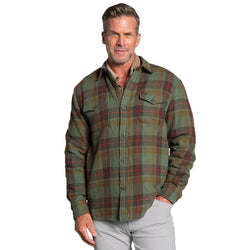 Summit Shirt Jacket with Sherpa Lining - True Grit - The Sherpa Pullover Outlet