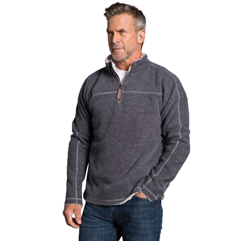 Bonded Vintage Cord 1/4 Zip Pullover - FINAL SALE - True Grit - The Sherpa Pullover Outlet