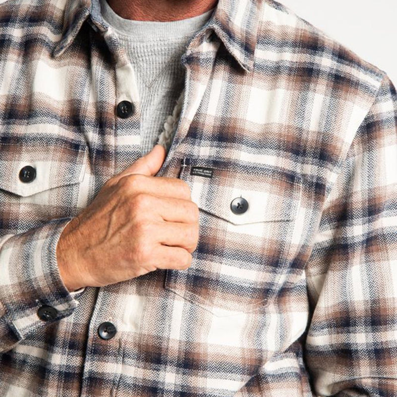 Roadhouse Checks Summit Shirt Jacket - True Grit - The Sherpa Pullover Outlet