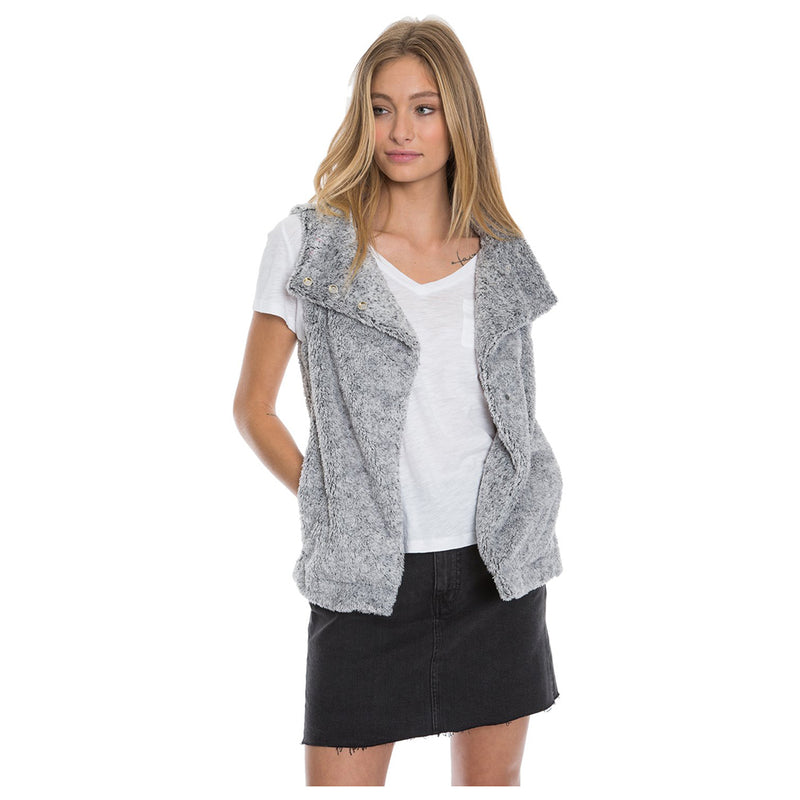 Sherpa Snap Vest - Dylan - The Sherpa Pullover Outlet