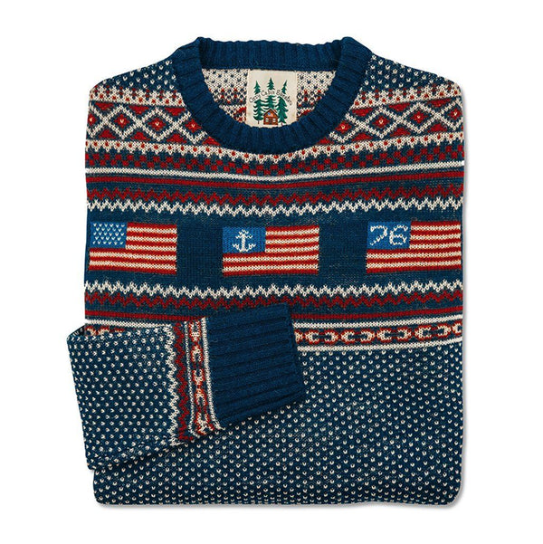 American Isle Sweater by Kiel James Patrick - Kiel James Patrick - The Sherpa Pullover Outlet