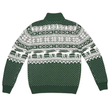 Banff Pullover in Dark Green by Southern Marsh  - 3