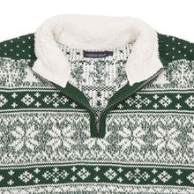 Banff Pullover in Dark Green by Southern Marsh  - 4