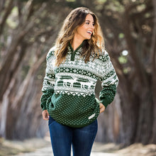 Banff Pullover in Dark Green by Southern Marsh  - 2