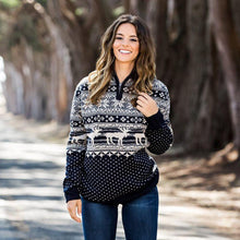 Banff Pullover in Navy by Southern Marsh  - 2