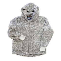 Cardigan Fleece Hoodie - Live Oak - The Sherpa Pullover Outlet