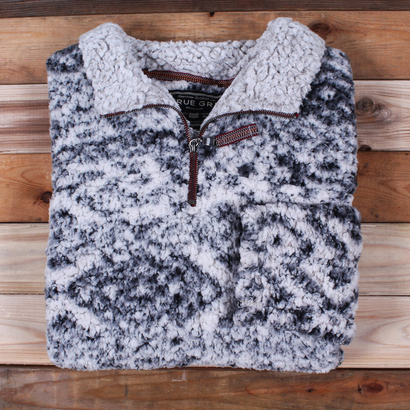 Frosty Tipped Tribal Pullover - True Grit - The Sherpa Pullover Outlet