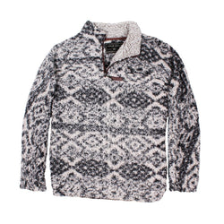 Frosty Tipped Tribal Pullover - FINAL SALE - True Grit - The Sherpa Pullover Outlet