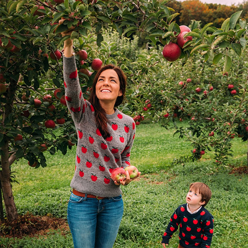 Women's Apple Pickin' Sweater by Kiel James Patrick - Kiel James Patrick - The Sherpa Pullover Outlet